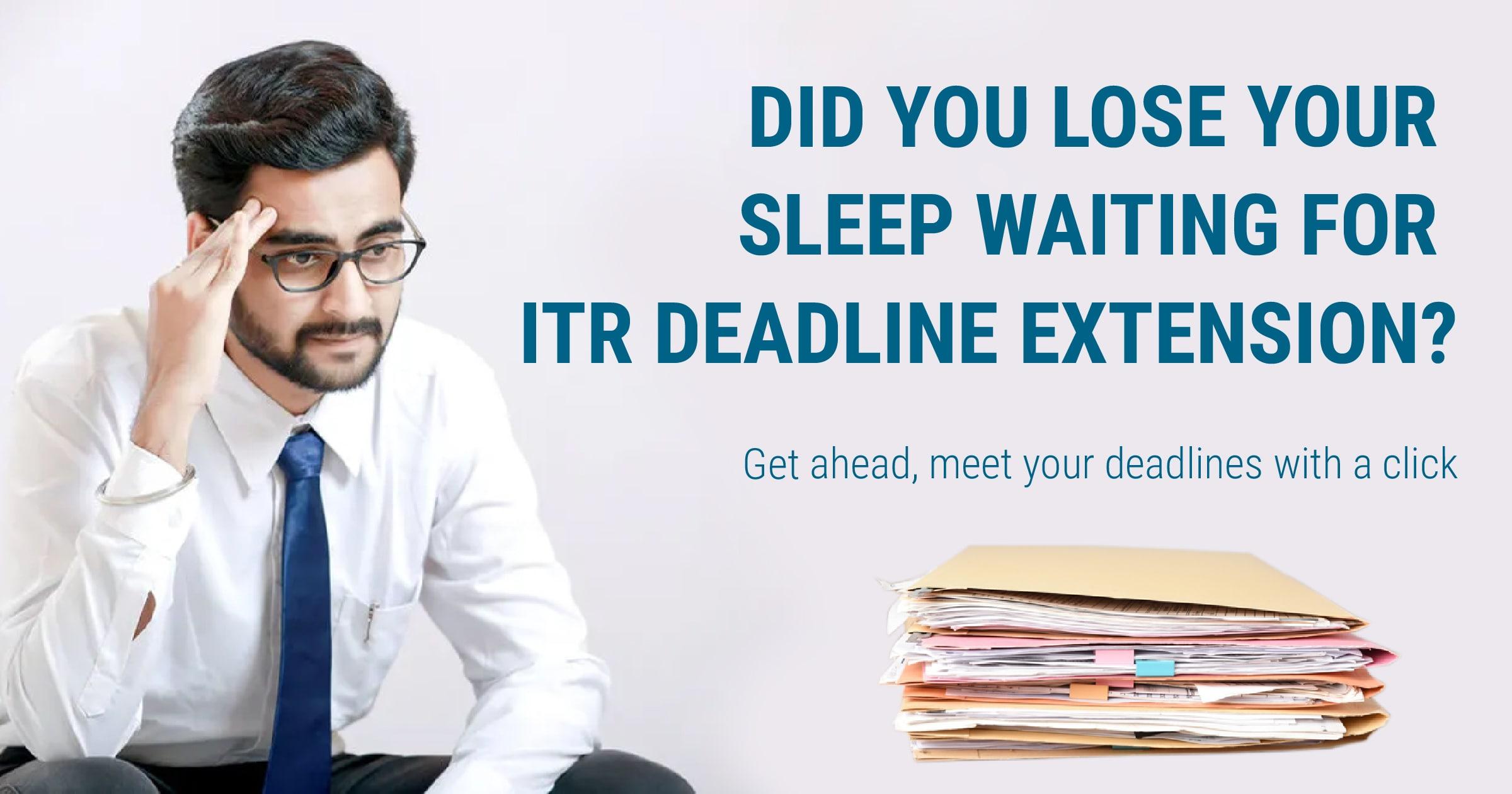 deadline to file income tax returns